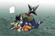 Iruka defende Naruto