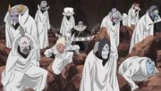 Jutsu Secreto Blanco Diez Marionetas de Chikamatsu Anime