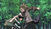 Lee lutando contra Gari