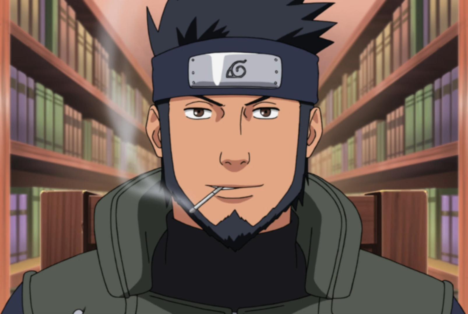 Sarutobi Asuma - NARUTO - Image #1625245 - Zerochan Anime Image Board