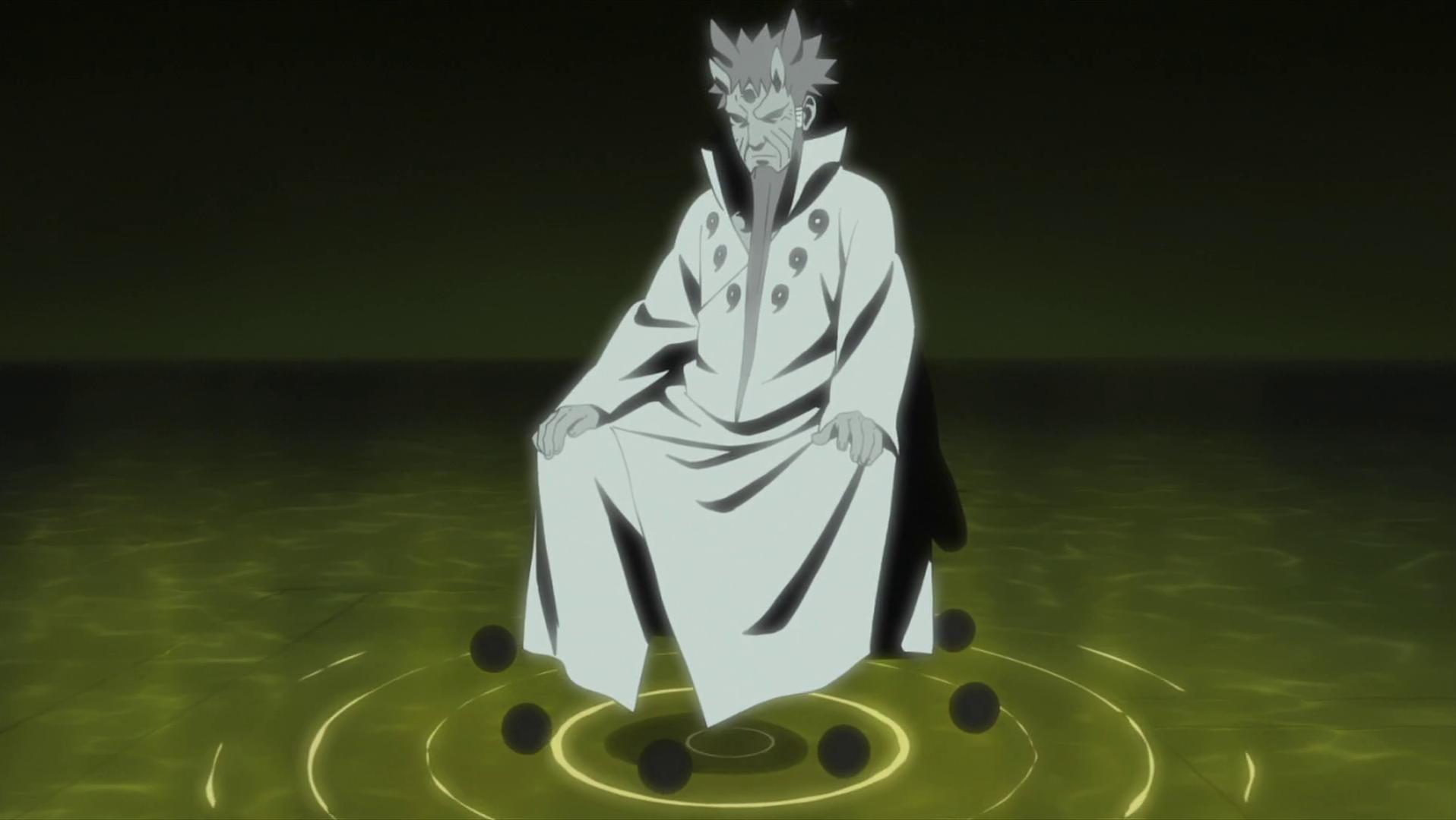 Naruto Uzumaki Ootutuki Hagoromo Rikudo Sennin Necklace Bracelet Magatama Sa
