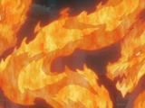 Katon - Embrasement Infernal du Dragon