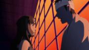 Kinoe se enfrenta a Danzō Shimura