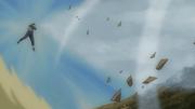 Kokage usando Liberação de Vento