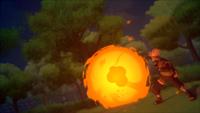 Liberação de Fogo - Técnica da Grande Bola de Fogo (Kakashi - Game)