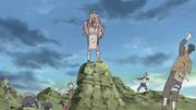 Tayuya prende adversários em genjutsu