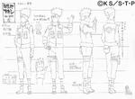 Diseño de Kakashi Apariencia Jonin por Pierrot