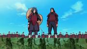 Hashirama y Madara fundan Konoha