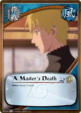 La Muerte de un Maestro Carta