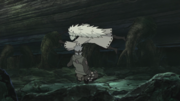 Madara rouba o olho de Kakashi (Anime)
