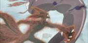 Naruto batalla contra Amaru transformada en el Cero Colas
