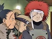 O Ino-Shika-Chō aparece