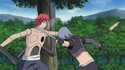 Shin y su dominio del Kenjutsu