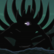 Tobi cuenta la historia de Rikudo Sennin y el Jūbi