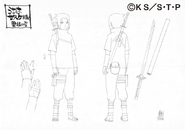 Arte Pierrot - Sasuke (Parte II - Alternativo)