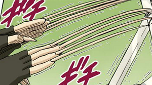 Jutsu Crecimiento de Uñas Manga