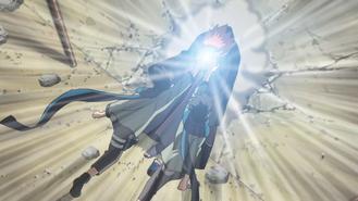 Konohamaru attacks Naraka
