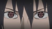 Mangekyō Sharingan Eterno de Sasuke (Anime)