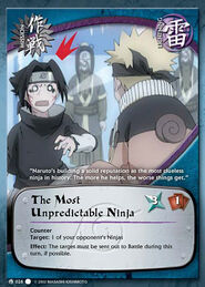 The Most Unpredictable Ninja