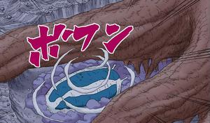 Jutsu de Invocación Katsuyu Manga color