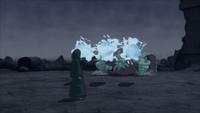 Liberação de Água - Projétil da Grande Massa de Água (Yagura - Game)