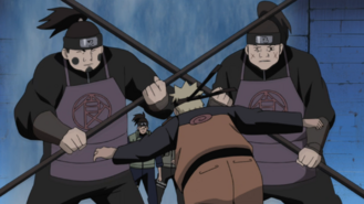 Naruto Vs Gaurds