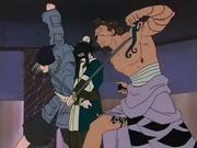 Haku vs Guardiões de Gato