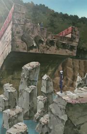 Kannabi Bridge Destroyed