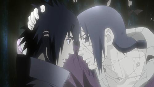 Las ultimas palabras de Itachi a Sasuke