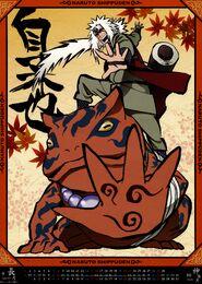 Naruto Shippūden Calendario 2013 Septiembre-Octubre