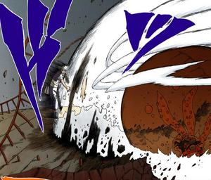 Rugido Sónico de Bestia con Cola Manga