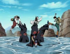 Team Guy vs Kisame