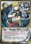 Carta Naruto Storm 3 Yugito Nii