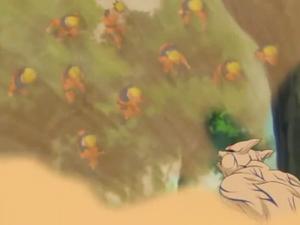 Elemento Viento Nube de Arena Infinita Gran Ruptura anime