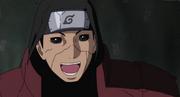 Hashirama emocionándose de saber que hubo un Cuarto Hokage
