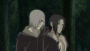 Itachi y Nagato en la primera noche de la Guerra
