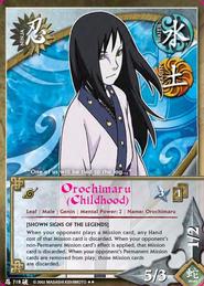 Orochimaru (Infancia) BP