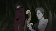 Zetsu entrega la información enviada por Kisame