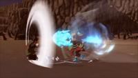 Bombardeio do Projétil de Borboleta de Chōji (Game)