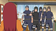 El Escuadrón de Sasuke le exige a Kushina la salida de Naruto