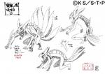 Diseño de Naruto Seis Colas I por Pierrot