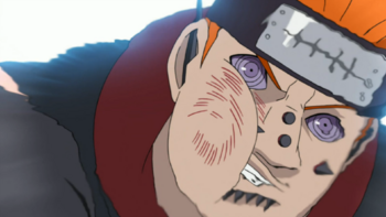 …the range of the attack is in fact increased with senjutsu.