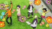 Inojin anima o desenho de Himawari