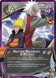 Naruto Uzumaki y Jiraiya SL
