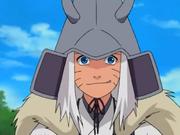 Naruto como el guerrero