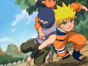 Naruto salva Sasame