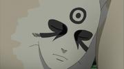 O rosto de Hashirama no peito de Madara