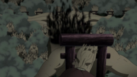 Arte Sabio Puerta del Gran Dios Sello de cabeza Anime