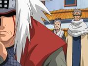 Jiraiya é confrontado pelo conselho