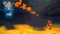 Liberação de Fogo - Técnica da Fênix Sábia de Fogo (Sasuke - Game)